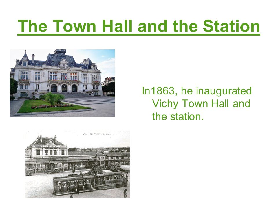 The Town Hall and the Station