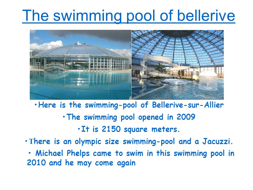 The swimming pool of bellerive