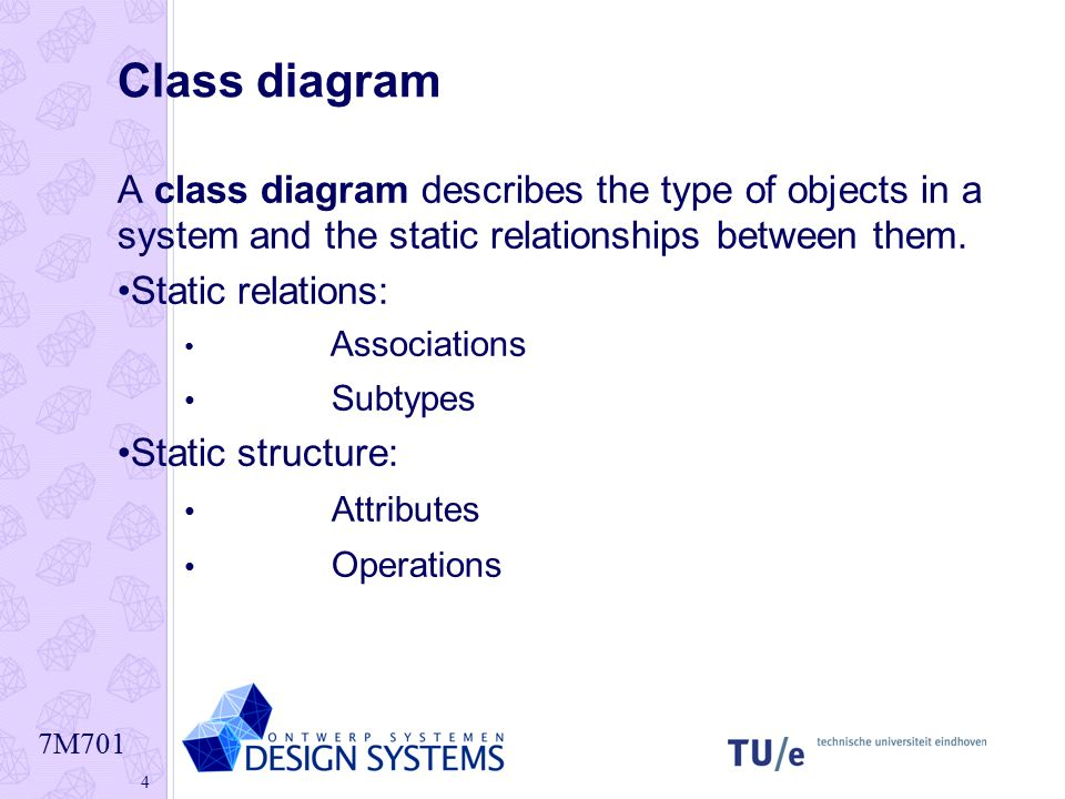 class and object relationship mapping