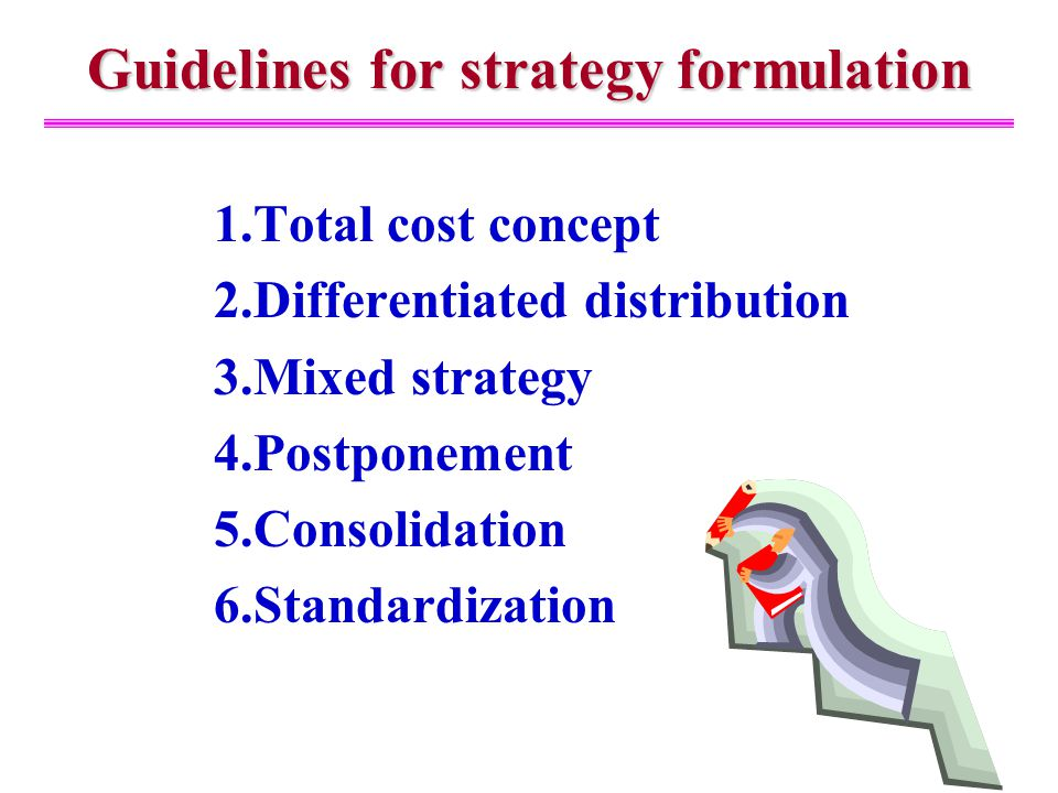 pattern for strategy formulation Video created by university of virginia for the course strategic planning and execution this week you'll learn about how strategy gets set and implemented in.