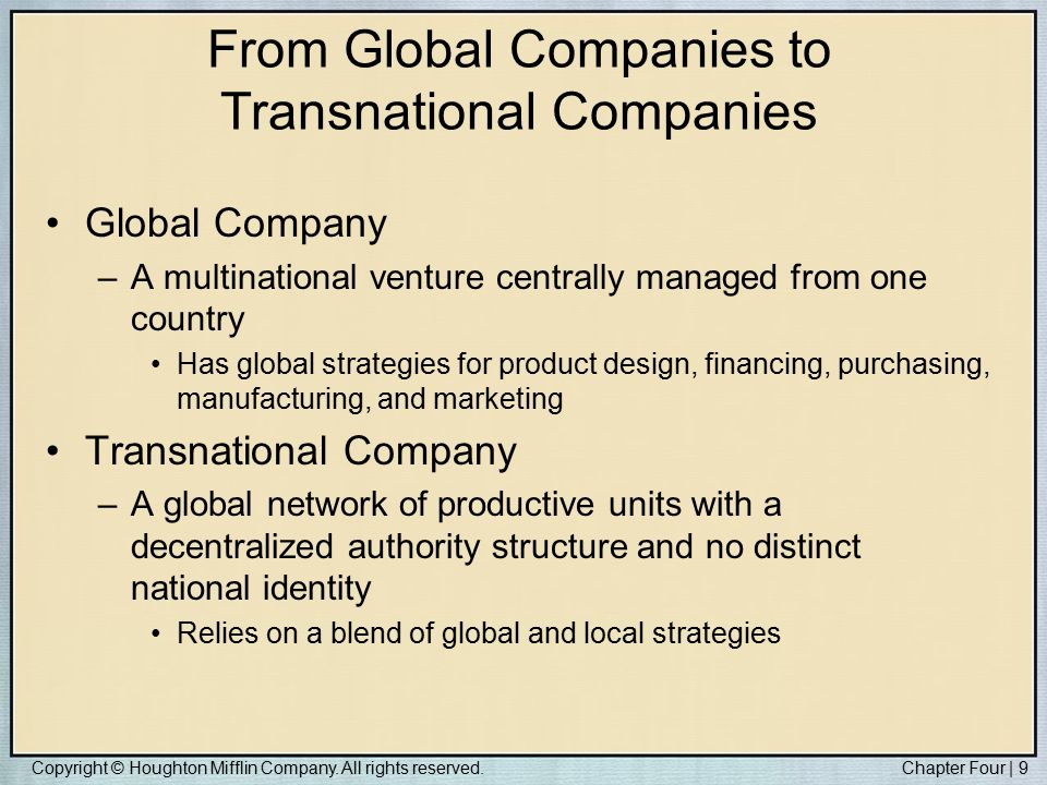 transnational corporations in international relations Alternative titles: mnc, international company, transnational corporation  multinational  interest group: interest groups in international politics  multinational.