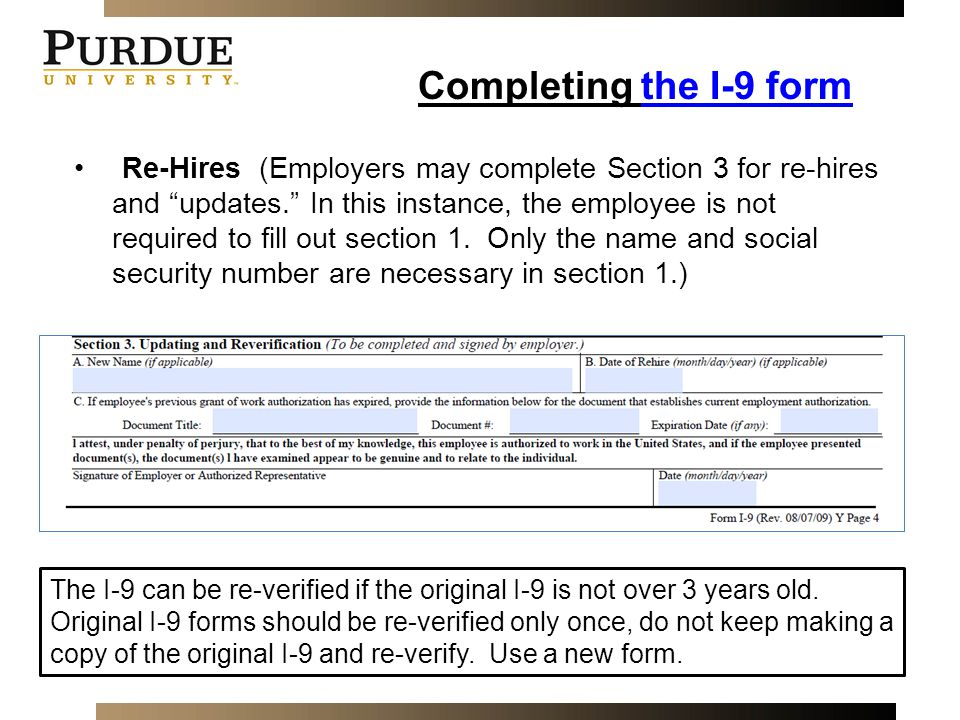 Employment Eligibility Verification - ppt video online download