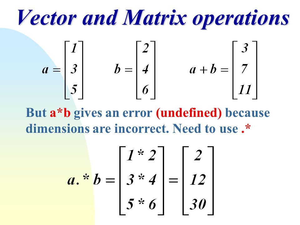 Matrix Operations Images - Reverse Search