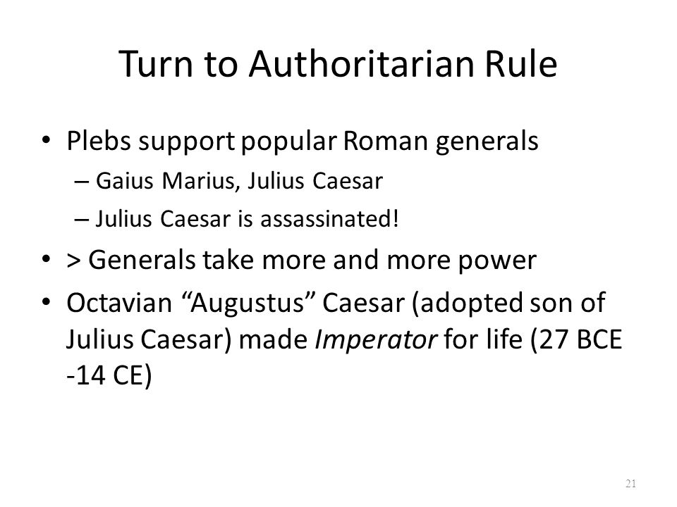 the life and rule of julius caesar For julius caesar, the dictator who famously pardoned every opponent,   george washington and his peers studied cato's life in the form of the most  he  flourished during the reign of the emperor trajan and is best known.
