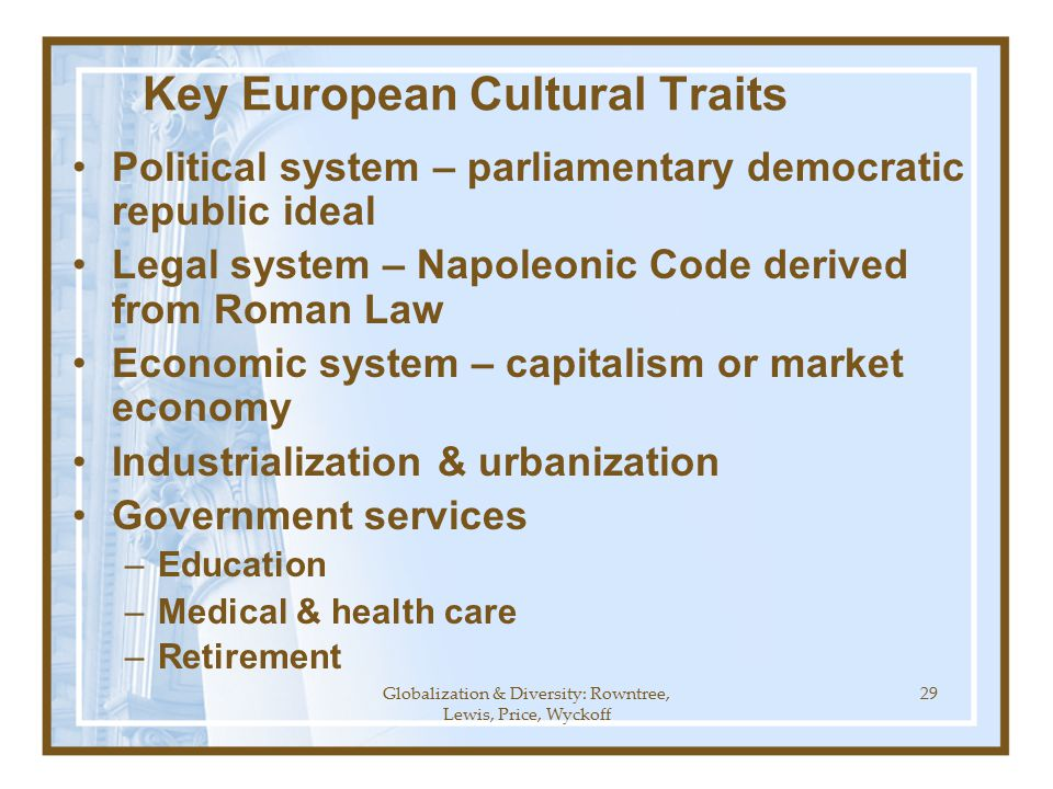 the five basic traits that make a capitalist political and socioeconomic system unique What are the five features of democracy the five main characteristics of democracy are as under: (i) elected representative: in democracy representatives elected by the people make laws and.