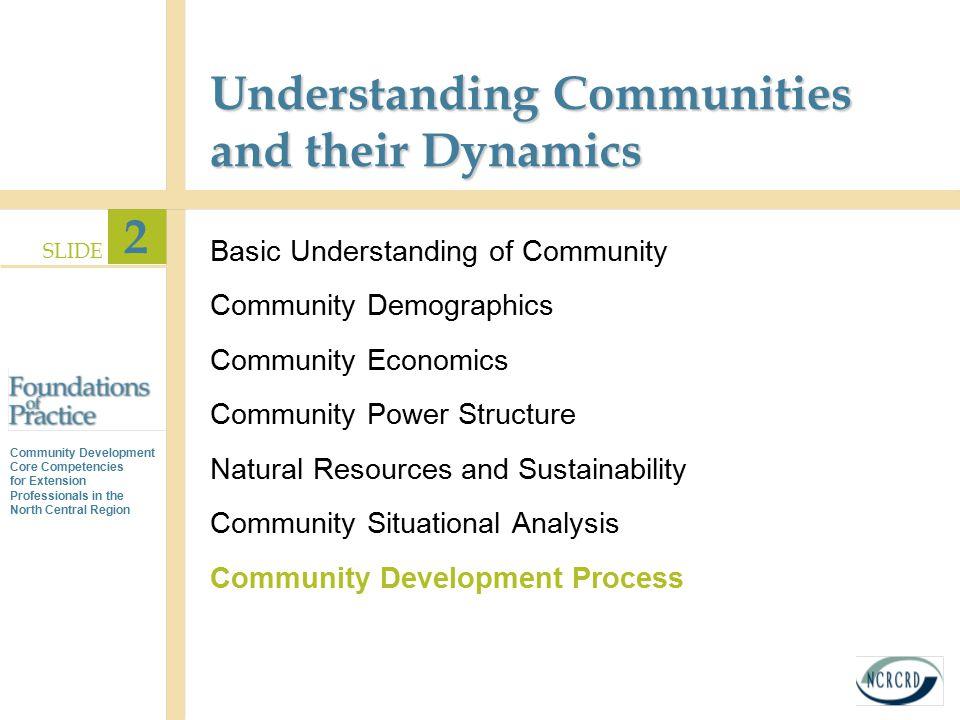Understanding Communities and their Dynamics