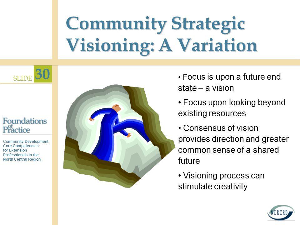 Community Strategic Visioning: A Variation