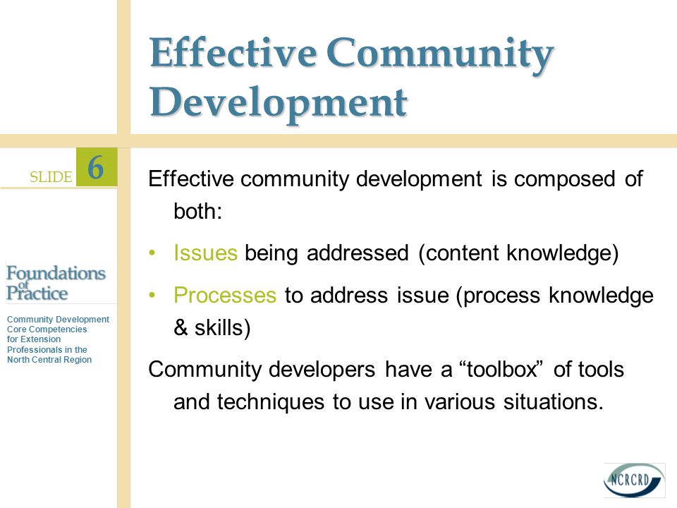importance of understanding community dynamics and community action pdf