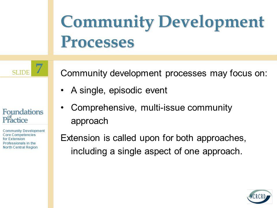 Community Development Processes