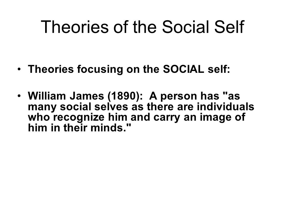 an overview of the looking glass self a social psychological concept by charles cooley Abstract: this article reviews cooley's idea of the looking glass self, and goffman's elaboration it can be formulated as a conjecture that links two concepts: shared awareness and the social emotions cooley named pride and shame as the social emotions, and goffman added embarrassment and humiliation as shame.