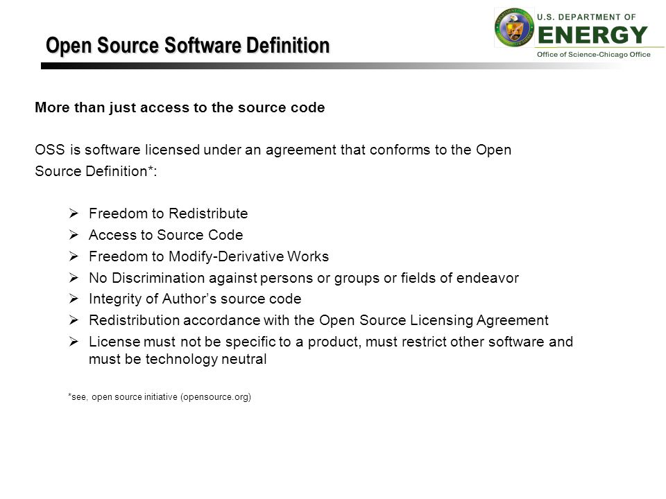 Licensing oss its not as hard as you think ppt video online open source software definition platinumwayz