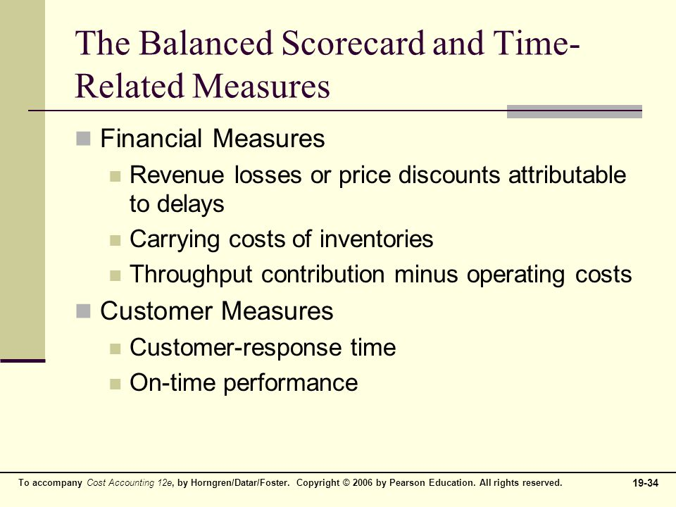 balanced scorecard quality time and the theory of constraints 9 v methods for quality improvement  theory of constraints  the balanced  scorecard is an approach to manage and measure an organization's activities.