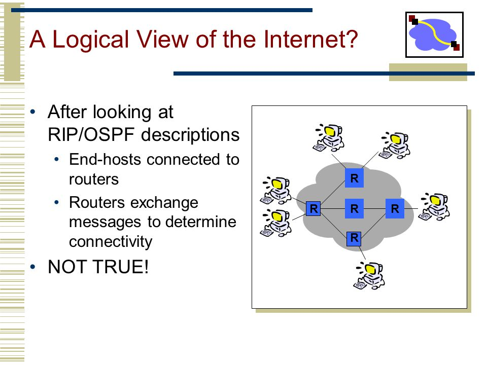 A Logical View of the Internet