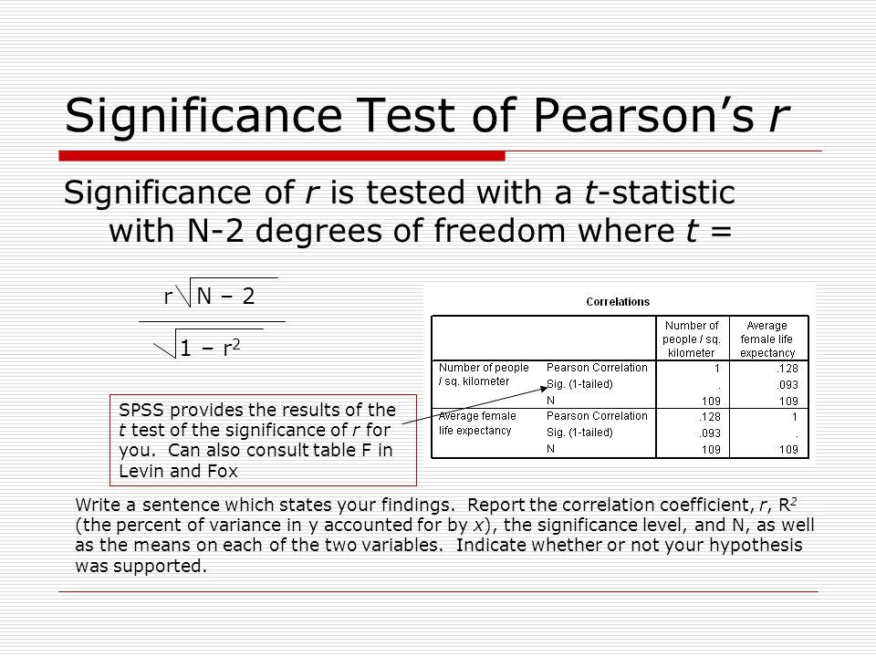 Correlation ppt download for T table 99 degrees of freedom
