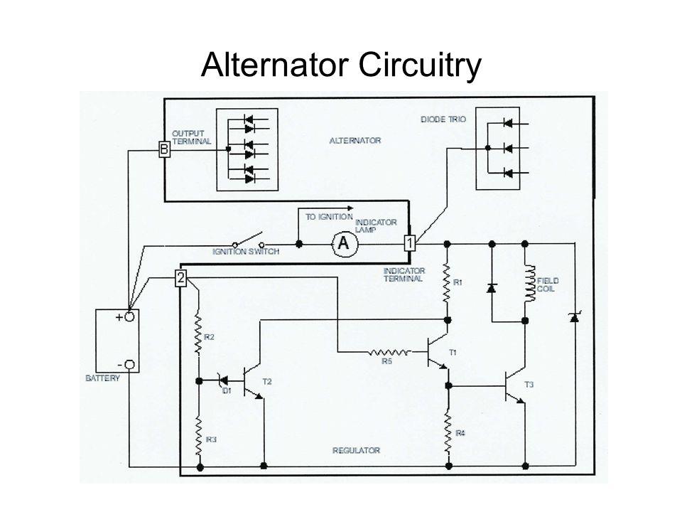 alternator functional diagram