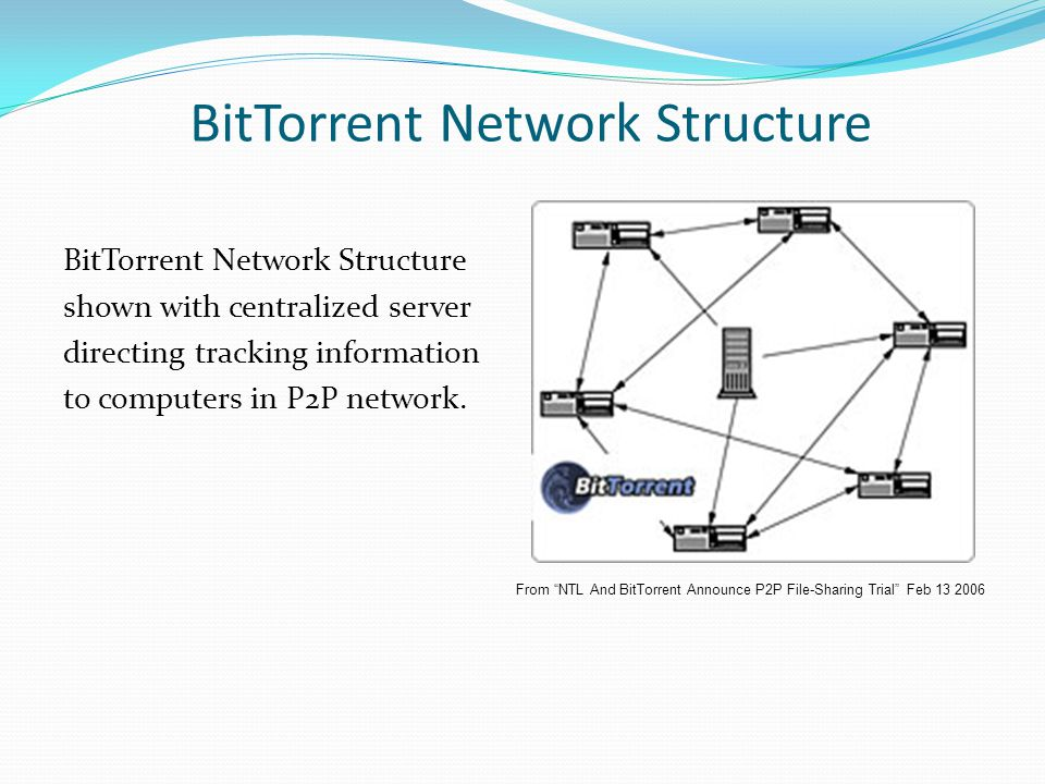 BitTorrent Network Structure