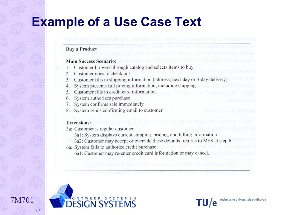 Example of a Use Case Text