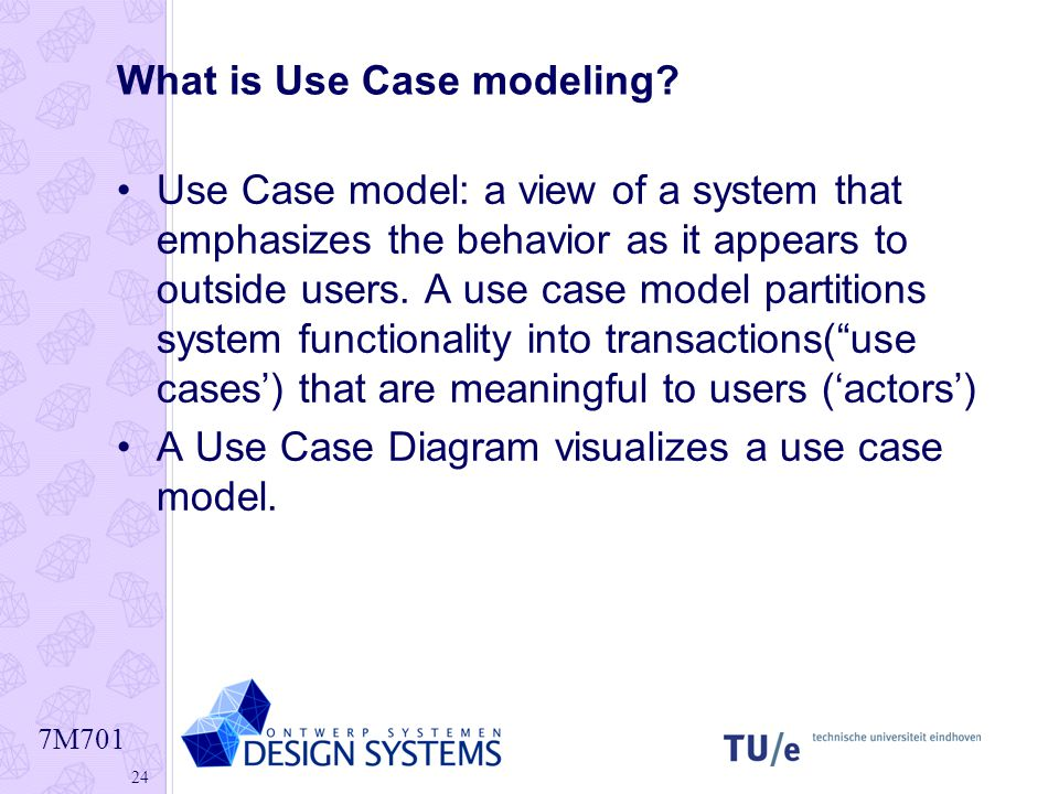 What is Use Case modeling