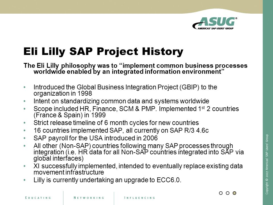 Eli lilly 1998 emerging global organization