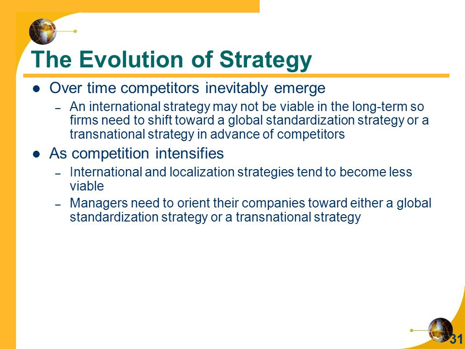 What is localization strategy?