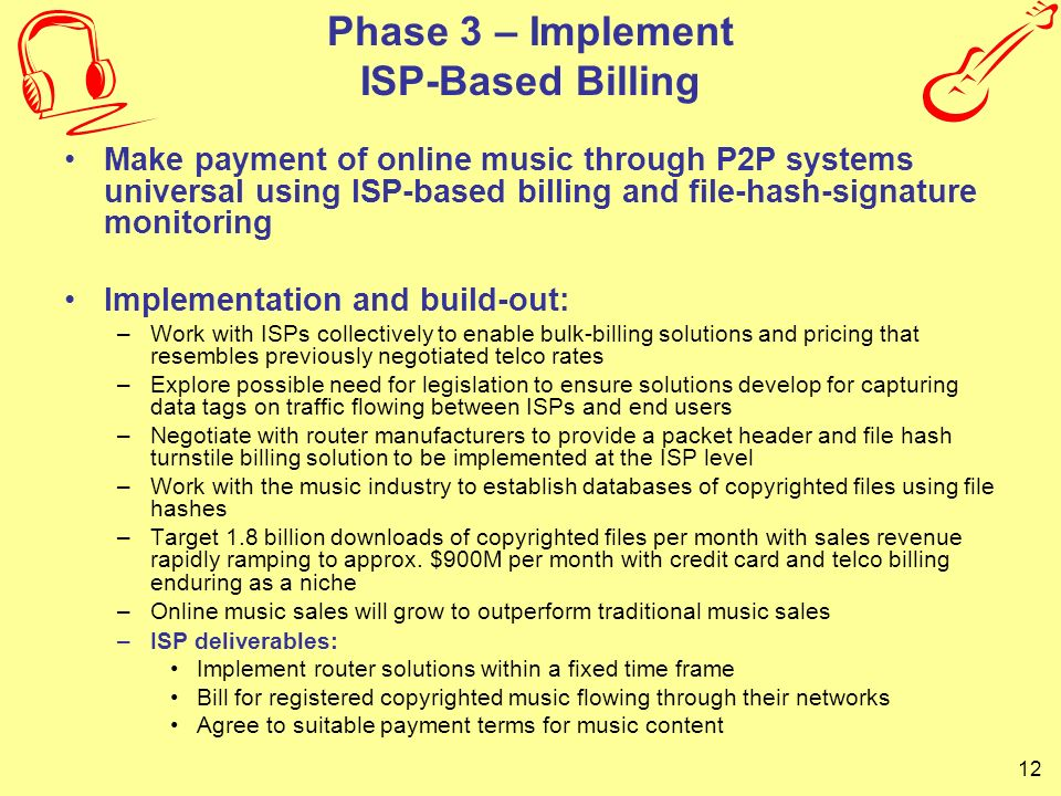 Phase 3 – Implement ISP-Based Billing