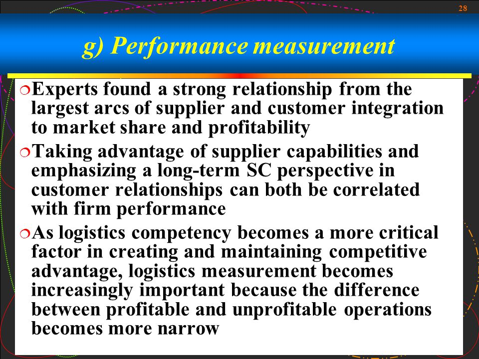 relationship between supplier integration and time to market Into the dynamics of companies and markets with close collaboration at all   forge links with key suppliers on the basis of lean principles in addition to  yielding.