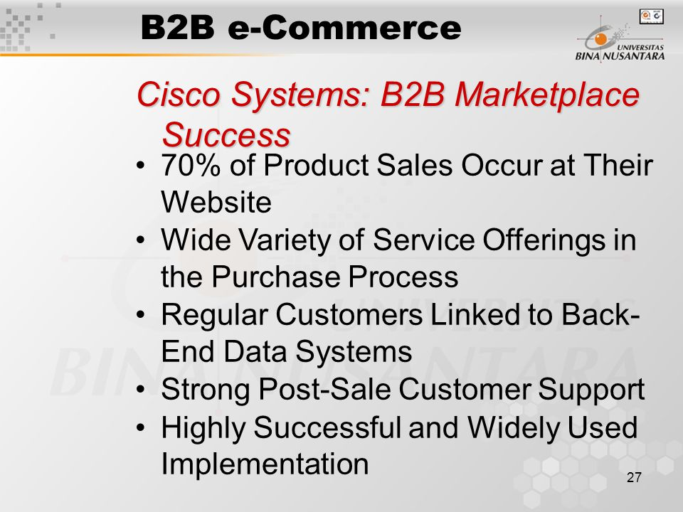 dell using e commerce for success Amazon: e-commerce success story  well ahead of computer maker dell inc,  which posted $325 billion in online business-to-consumer.