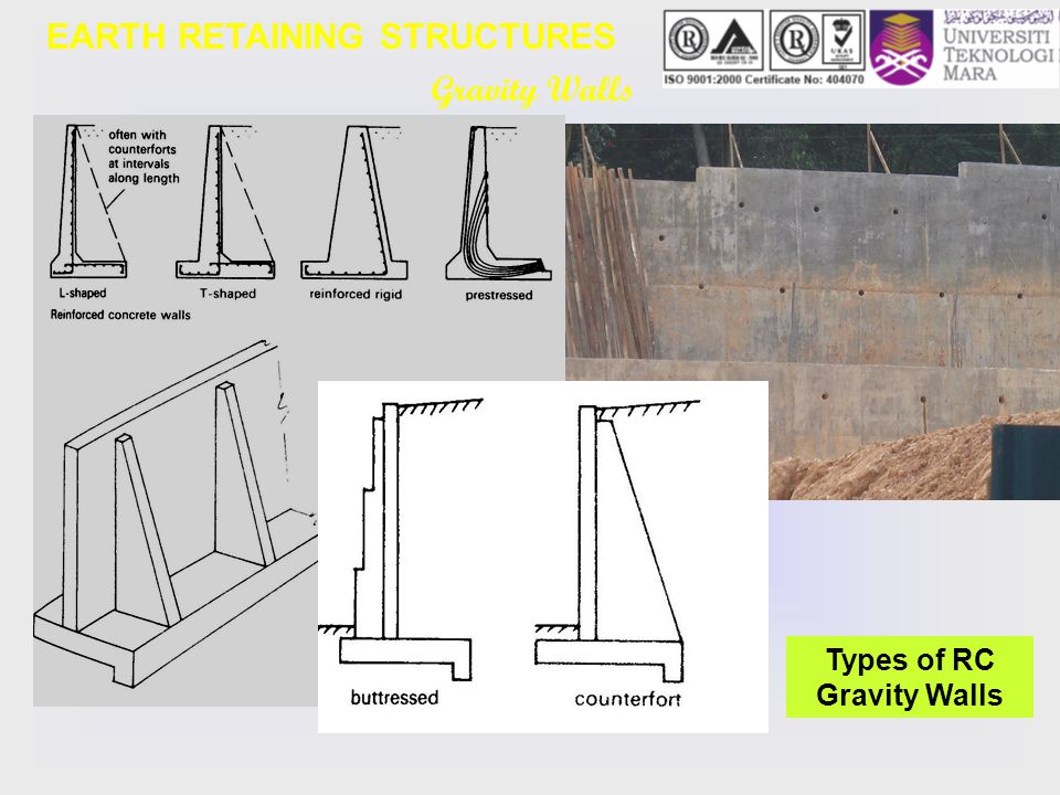 Earth Retaining Structures : Geotechnical engineering ecg lecture note topic