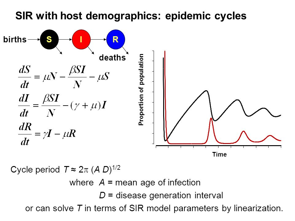 sir model of epidemics investigation In the seir model of epidemic dynamics, humans are broken up into four categories/compartments of susceptibility: susceptible, exposed, infectious, and recov.