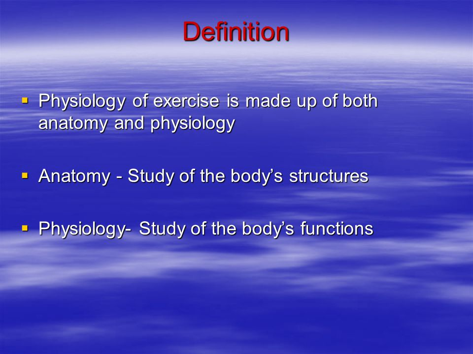 An Introduction to Exercise and Sport Physiology - ppt download