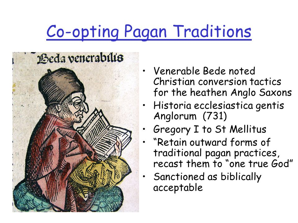 Co-opting Pagan Traditions