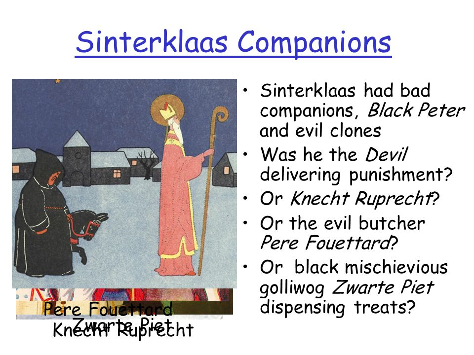 Sinterklaas Companions