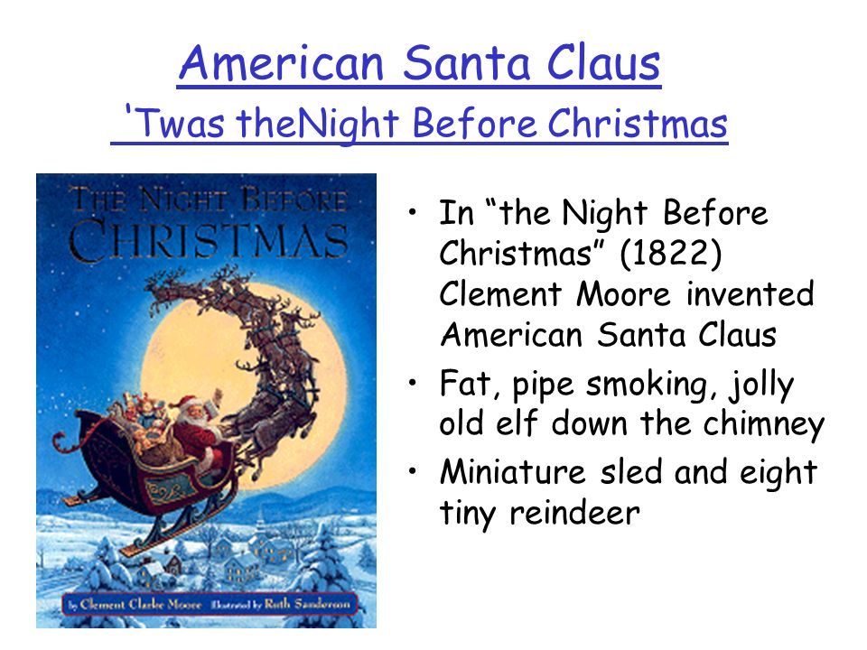 American Santa Claus 'Twas theNight Before Christmas