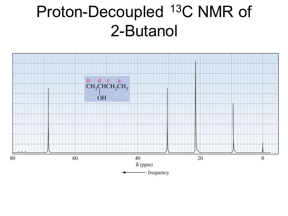 Proton Decoupled Nmr Of Butanol