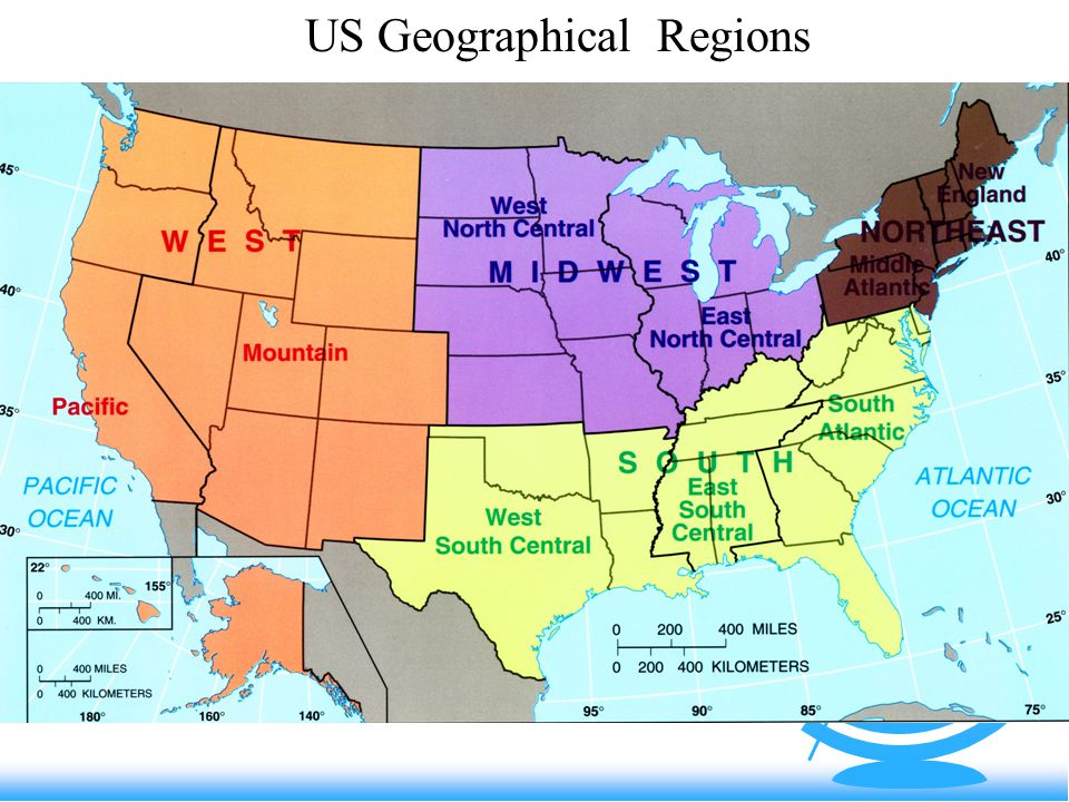 North America Background North AmericaAnglo America Ppt Video - Map of us geographic regions