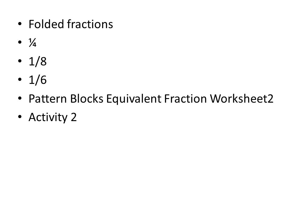 FRACTIONS & RATIONAL NUMBERS - ppt download