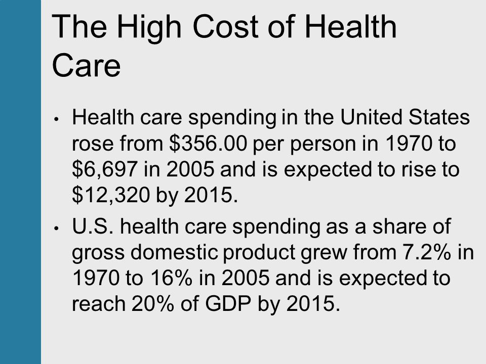 the issue of health care in the united states Reform of health and medical care in the united states —that is, effective  solutions to the problems of access, quality, and cost—is thus an exceedingly  complex.