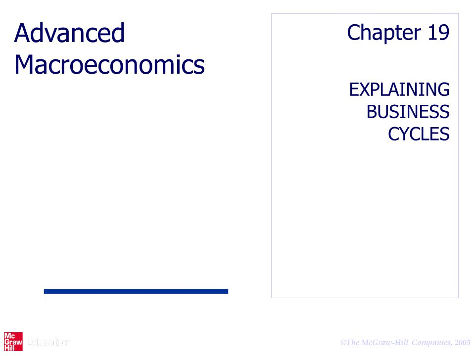 advanced macroeconomics This is a standard text and starting point for graduate macro courses that helps to lay the groundwork for students doing research in macroeconomics and monetary economics a series of formal models are used to present and analyze macroeconomic theories, and these are supplemented by examples of.
