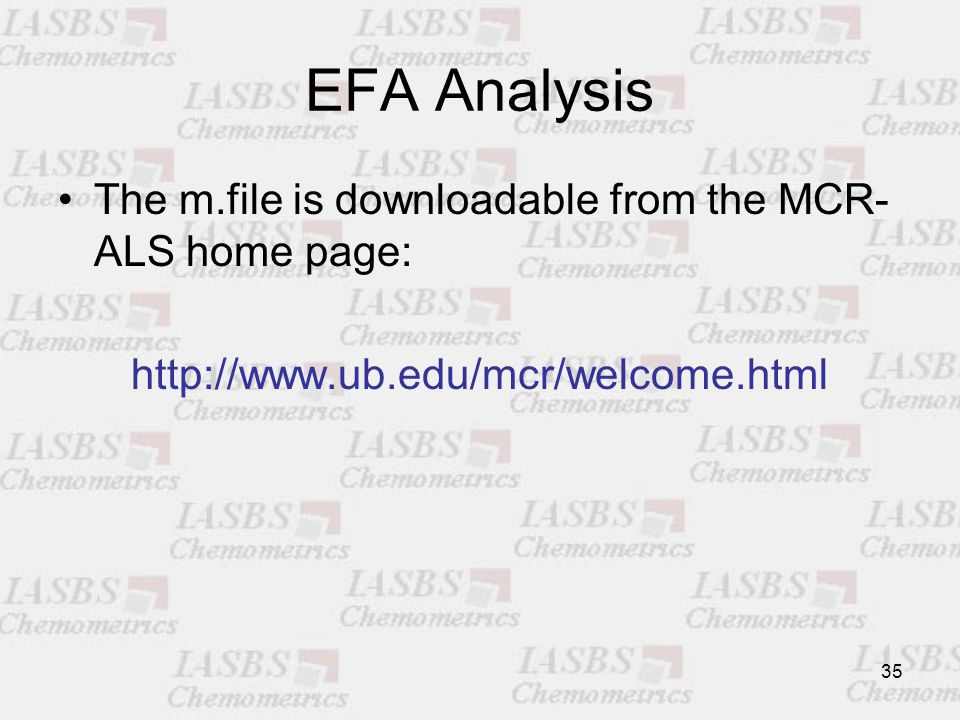 EFAS and IFAS