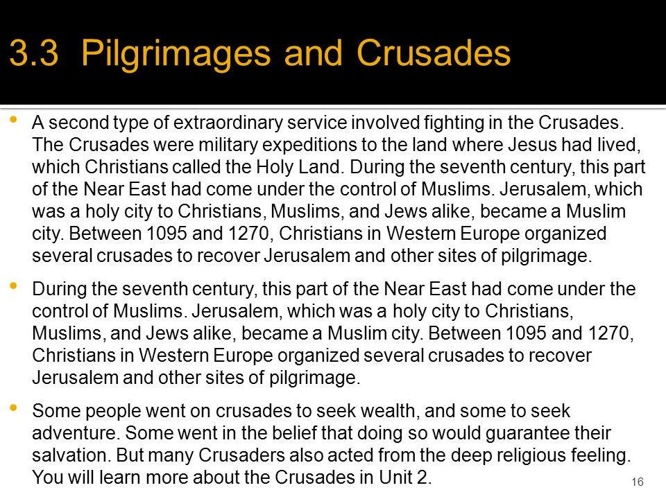 the crusades purpose to recover the christian holy land from muslisms The crusades (1096-1204) were christian conquests to recover the holy  of  invasions were taken to fulfill the goal of christian control over the holy land.