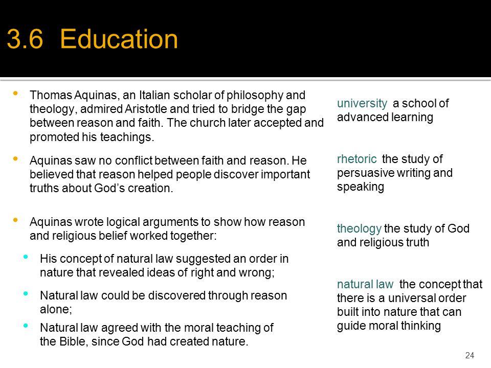 Faith and reason essay