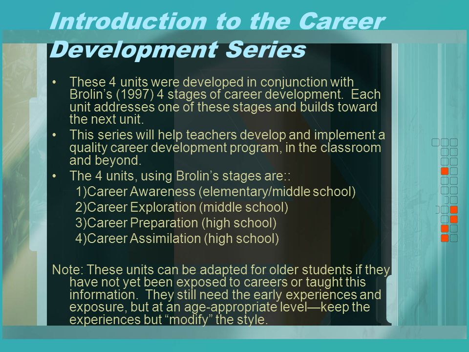 Career development series ppt video online download career development series malvernweather Images
