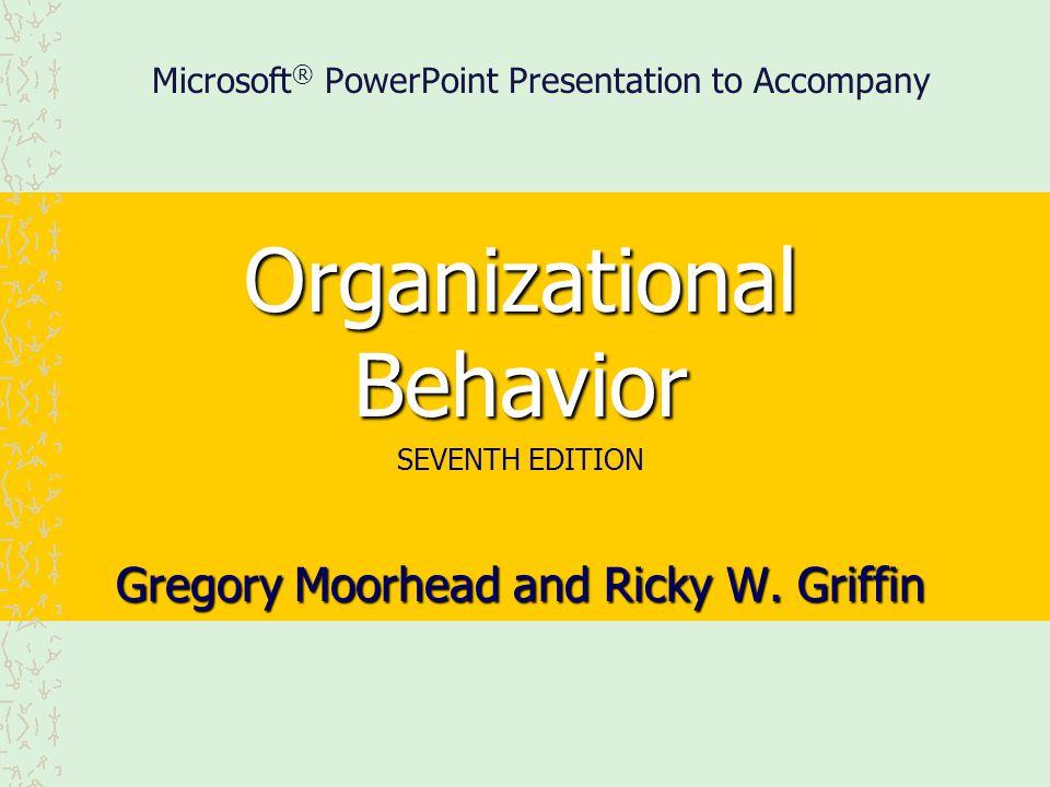 Microsoft® PowerPoint Presentation to Accompany
