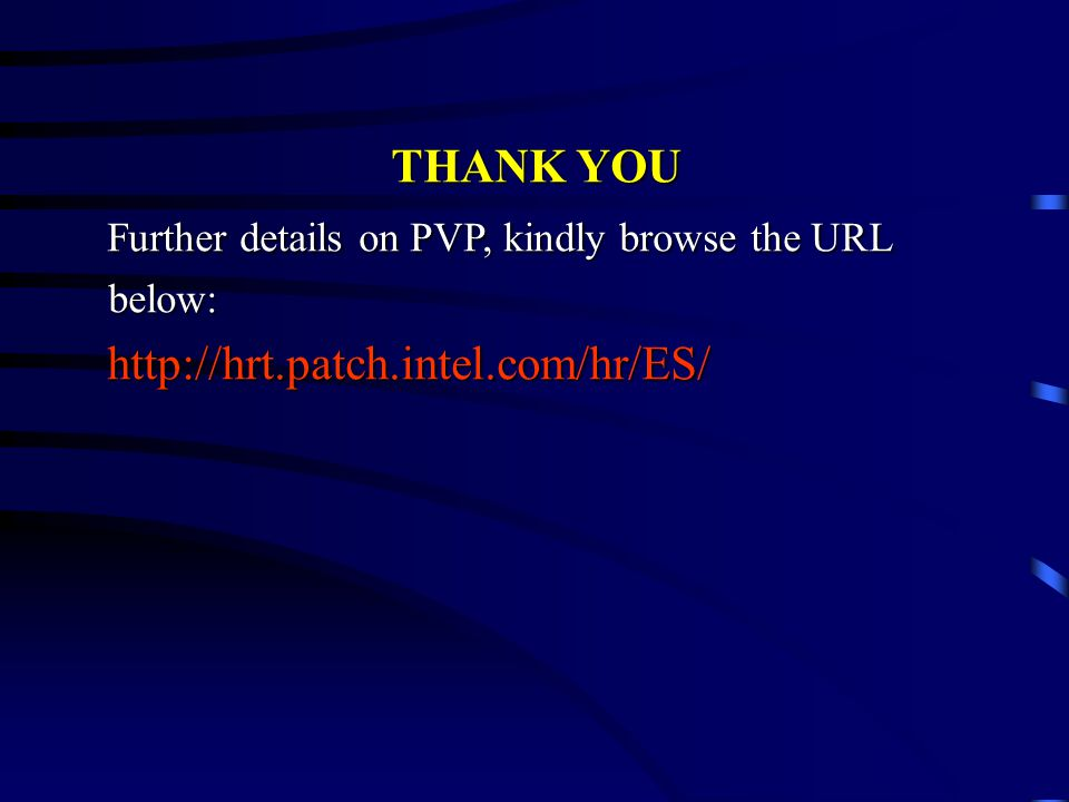 Further details on PVP, kindly browse the URL