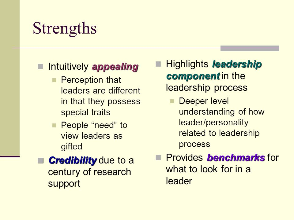 The process of leadership
