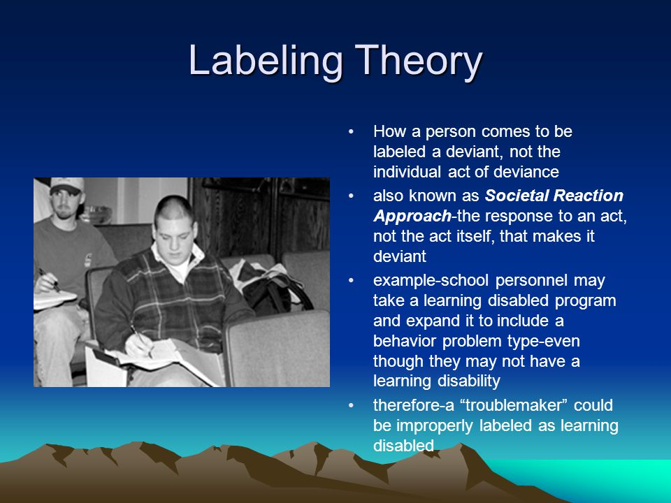 labeling and conflict theory essay example It looks like you've lost connection to our server please check your internet connection or reload this page.