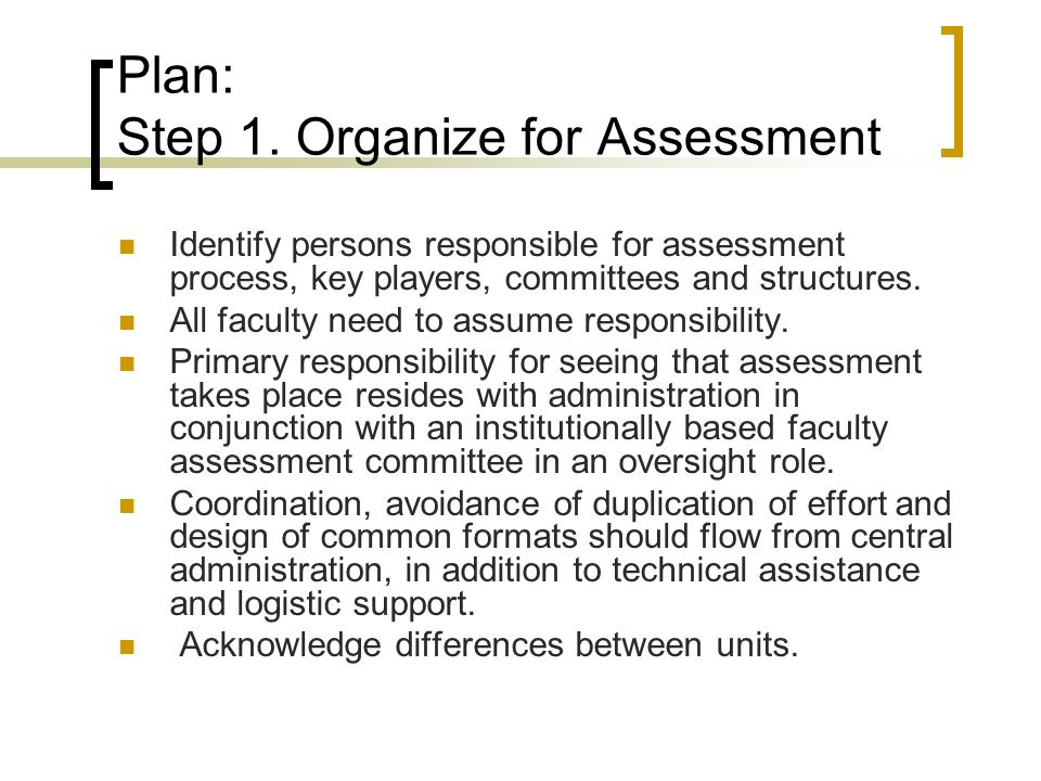 assessment 2 program plan Creating an assessment plan & using assessment templates brought to you by the assessment office agenda • today's outcomes • program assessment overview • template 1: assessment plan • template 2: assessment project • template 3: assessment results &.