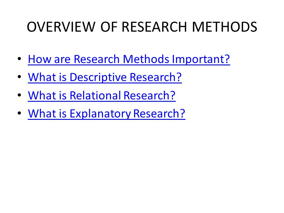 what is a descriptive research method Study flashcards on educational research chapter 6: descriptive research at research studies are descriptive research 414 describe two (2) methods of.