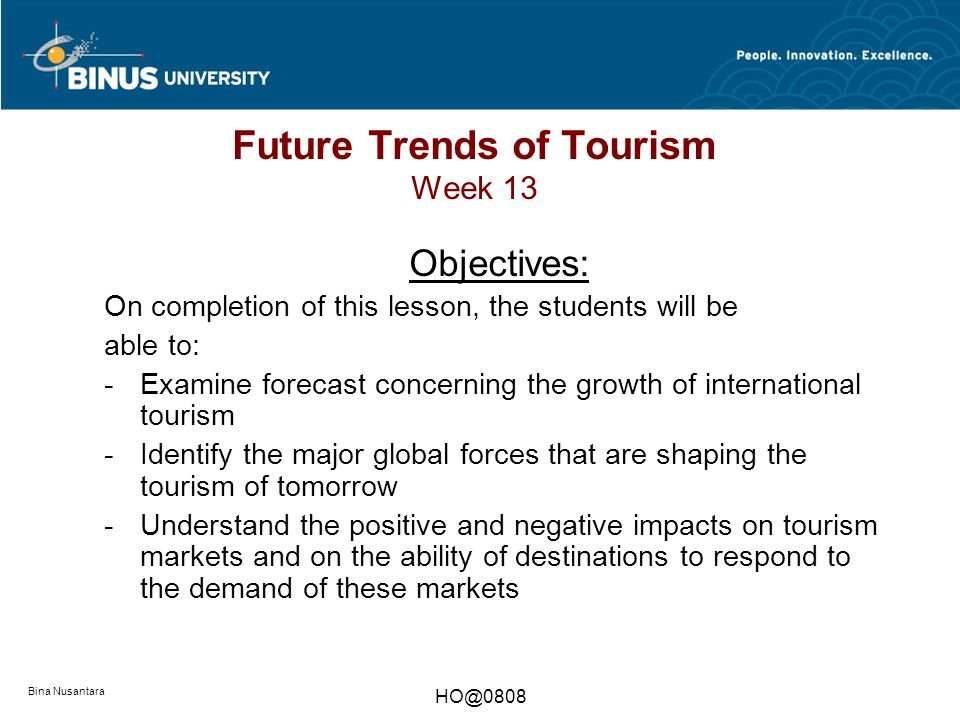 future trends growth destinations tourism essay Academiaedu is a platform for academics to share research papers.