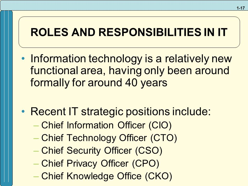 information systems description template Sample job desctiptions - technology and information systems operations manager.